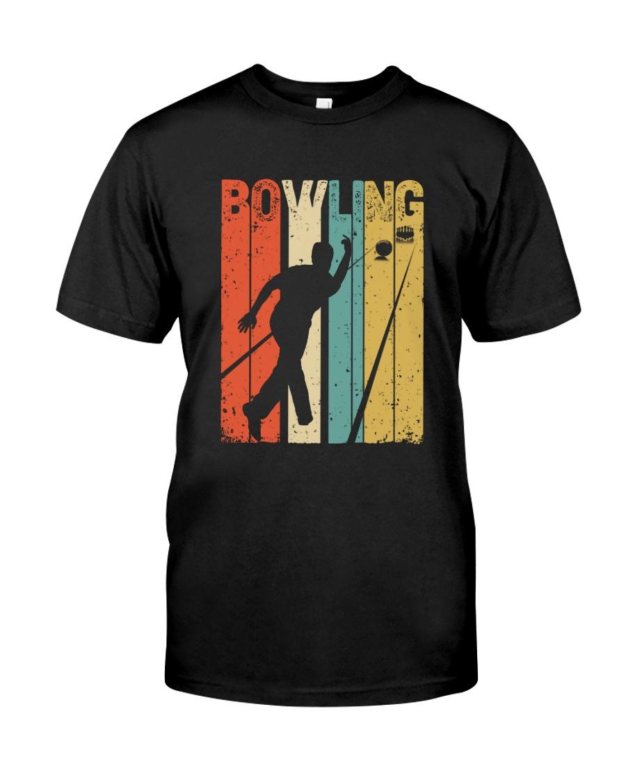 Bowling Sport vintage Classic T-Shirt