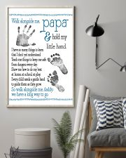 Walk alongside Papa 11x17 Poster lifestyle-poster-1