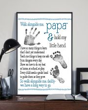 Walk alongside Papa 11x17 Poster lifestyle-poster-2