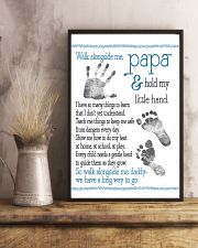 Walk alongside Papa 11x17 Poster lifestyle-poster-3