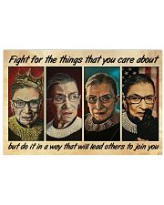 RBG fight 4 poster 17x11 Poster front