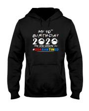 40th Birthday 2020 color Hooded Sweatshirt thumbnail
