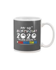 40th Birthday 2020 color Mug thumbnail