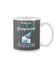 17 Spanish Spent Birthday Mug tile