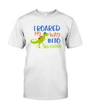 3rd grade I roared my way Classic T-Shirt tile