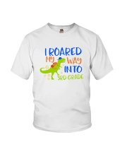 3rd grade I roared my way Youth T-Shirt front