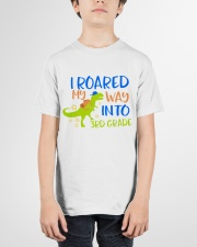 3rd grade I roared my way Youth T-Shirt garment-youth-tshirt-front-01