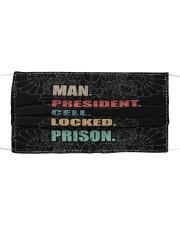 Man President Cloth face mask thumbnail