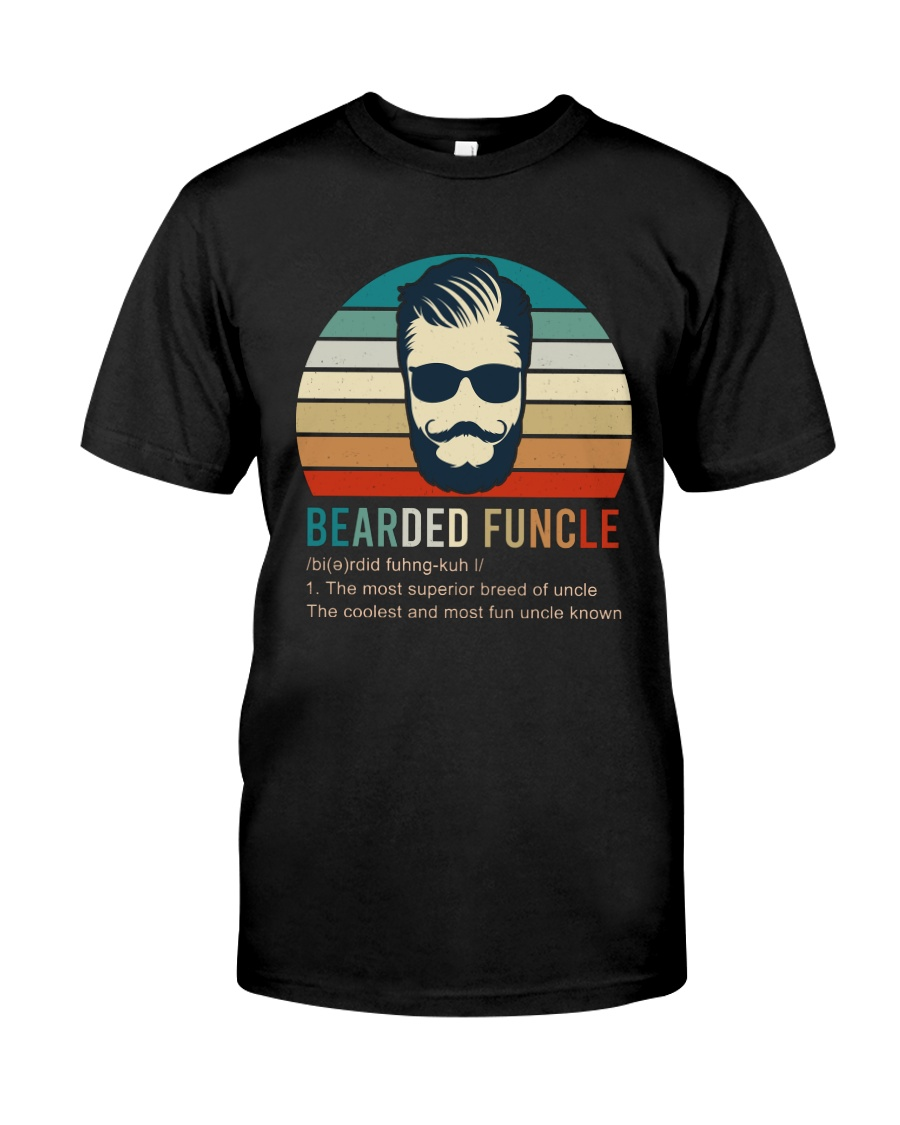 5 Bearded Funcle Classic T-Shirt