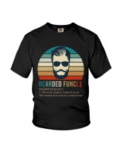5 Bearded Funcle Youth T-Shirt thumbnail
