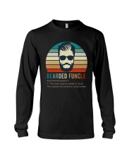 5 Bearded Funcle Long Sleeve Tee thumbnail