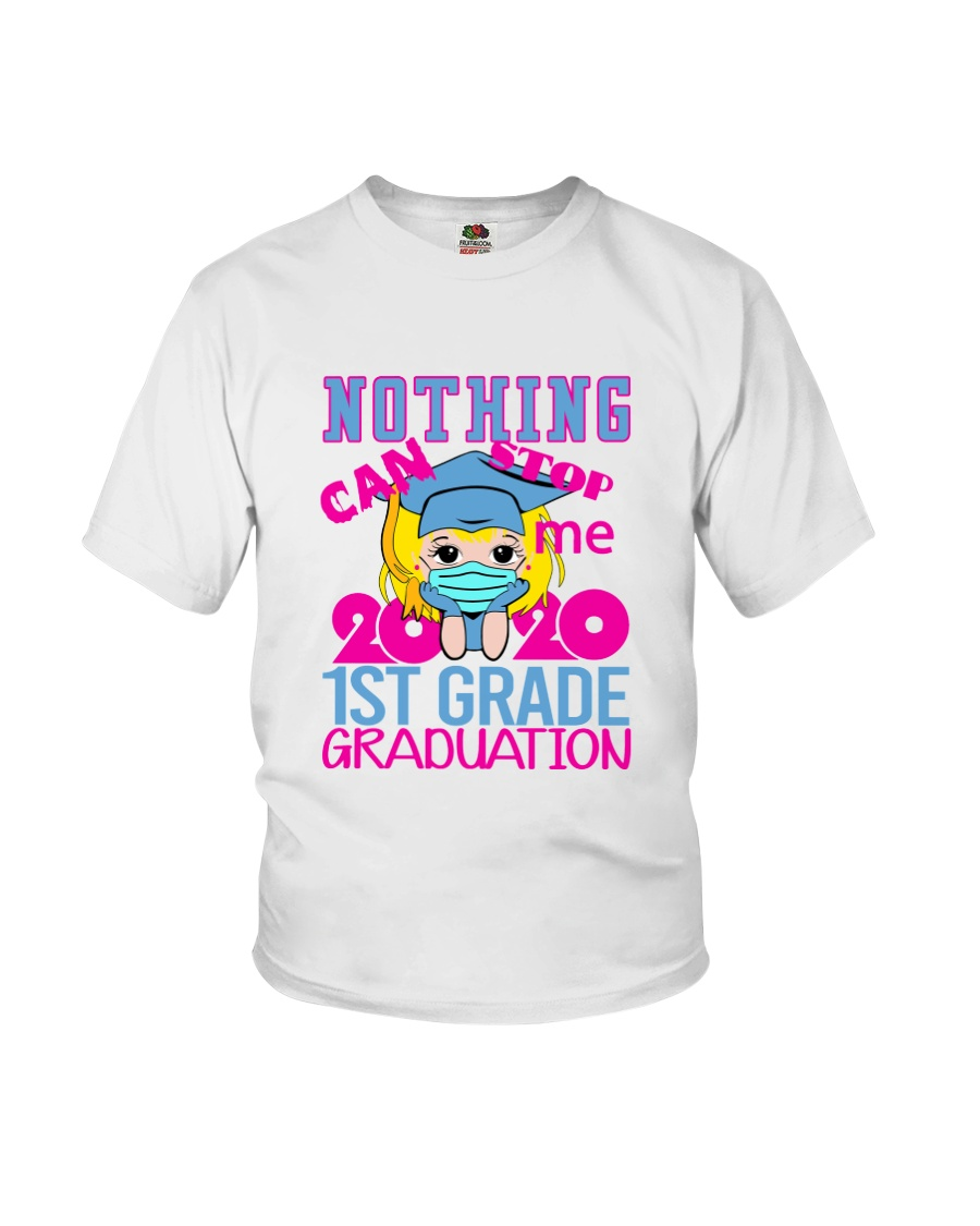 Blonde girl 1st grade Nothing Stop Youth T-Shirt