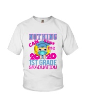Blonde girl 1st grade Nothing Stop Youth T-Shirt front