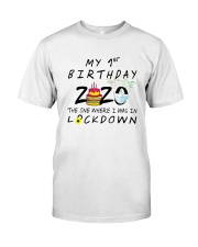 1st Birthday cake Classic T-Shirt tile