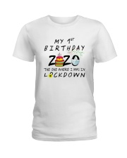 1st Birthday cake Ladies T-Shirt thumbnail