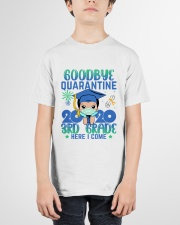 White Boy 3rd grade Goodbye quarantine Youth T-Shirt garment-youth-tshirt-front-01