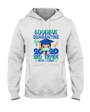 White Boy 3rd grade Goodbye quarantine Hooded Sweatshirt thumbnail