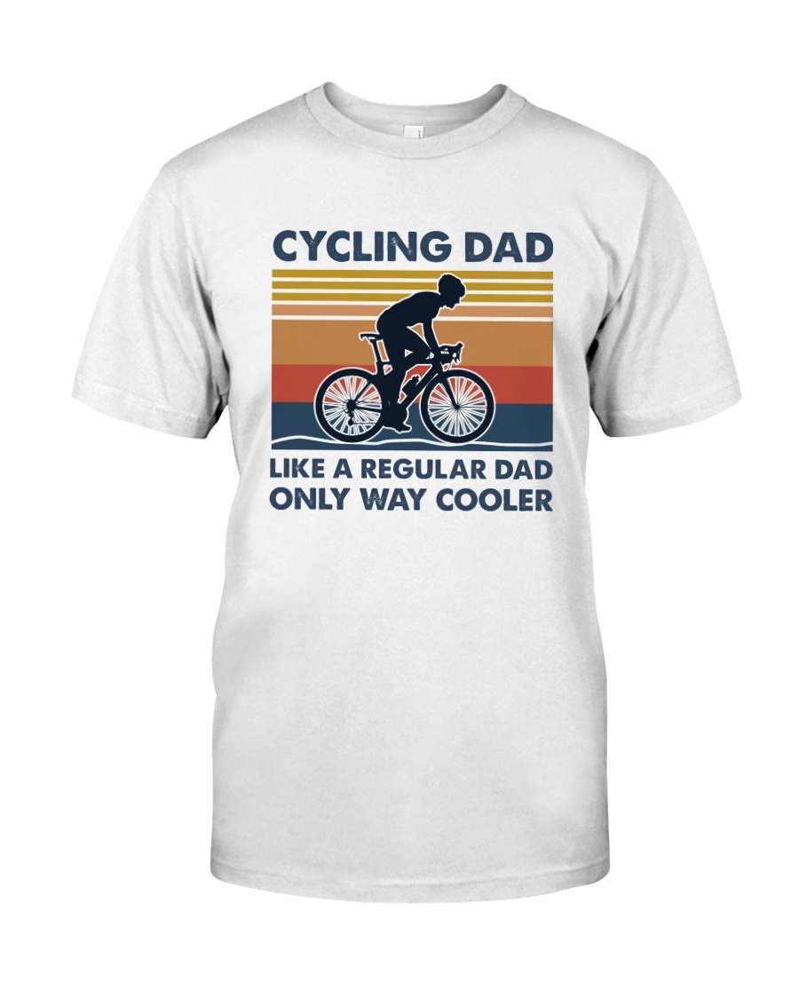 Cycling Cooler Dad Classic T-Shirt
