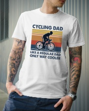 Cycling Cooler Dad Classic T-Shirt lifestyle-mens-crewneck-front-6