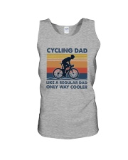 Cycling Cooler Dad Unisex Tank thumbnail