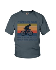 Cycling Cooler Dad Youth T-Shirt thumbnail