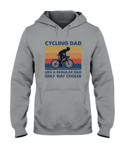 Cycling Cooler Dad Hooded Sweatshirt thumbnail