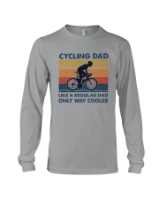 Cycling Cooler Dad Long Sleeve Tee thumbnail