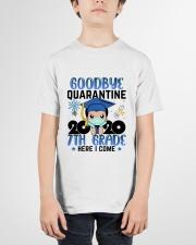 White Boy 7th grade Goodbye quarantine Youth T-Shirt garment-youth-tshirt-front-01