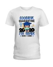 White Boy 7th grade Goodbye quarantine Ladies T-Shirt thumbnail