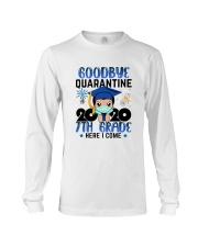 White Boy 7th grade Goodbye quarantine Long Sleeve Tee thumbnail