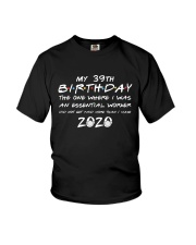 39th birthday essential worker Youth T-Shirt thumbnail