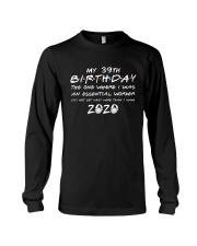 39th birthday essential worker Long Sleeve Tee thumbnail