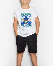 Black Boy 6th grade Goodbye quarantine Youth T-Shirt lifestyle-youth-tshirt-front-1