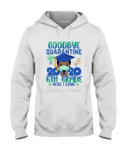Black Boy 6th grade Goodbye quarantine Hooded Sweatshirt thumbnail