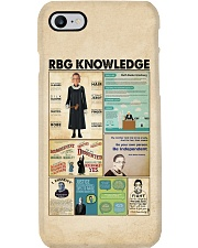 RBG knowledge poster Phone Case thumbnail