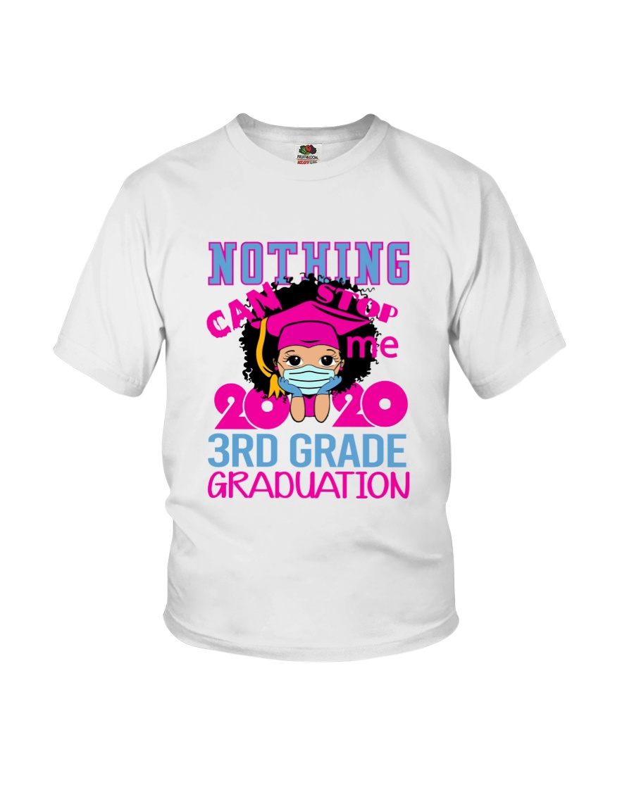 Girl 3rd grade Nothing Stop Youth T-Shirt