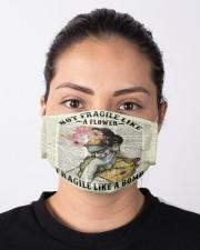 Frida Kahlo fragile upcycled dict Cloth face mask aos-face-mask-lifestyle-01