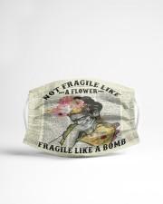 Frida Kahlo fragile upcycled dict Cloth face mask aos-face-mask-lifestyle-22