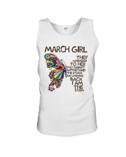March Girl I Am The Storm Unisex Tank tile