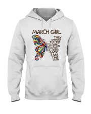 March Girl I Am The Storm Hooded Sweatshirt thumbnail
