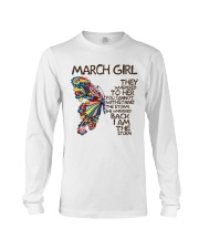 March Girl I Am The Storm Long Sleeve Tee thumbnail
