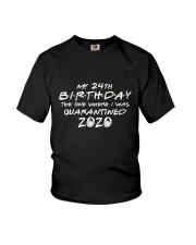 My 24th birthday Youth T-Shirt thumbnail