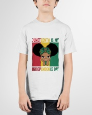 Juneteenth Is My Independence Day Youth T-Shirt garment-youth-tshirt-front-01
