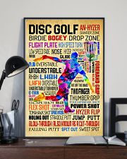 Disc Golf Word Art Vintage 11x17 Poster lifestyle-poster-2