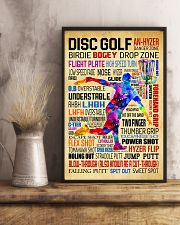 Disc Golf Word Art Vintage 11x17 Poster lifestyle-poster-3