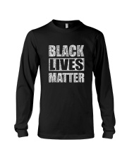 Black Say Their Names front Long Sleeve Tee thumbnail