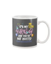 17th Birthday Party Not Invited Mug thumbnail