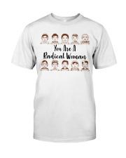 RBG radical woman sticker Classic T-Shirt thumbnail