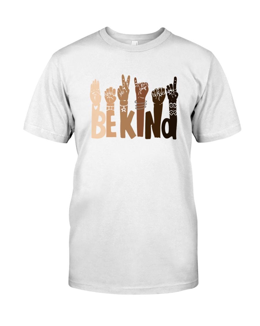 Be Kind Raise Hand Classic T-Shirt
