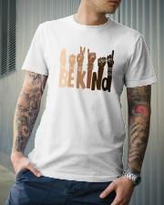 Be Kind Raise Hand Classic T-Shirt lifestyle-mens-crewneck-front-6